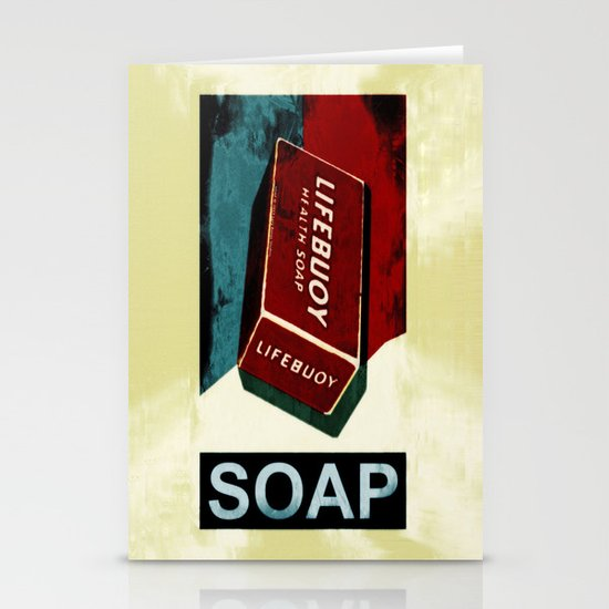 Soap - 054 Stationery Card
