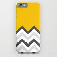 Color Blocked Chevron 17 iPhone 6 Slim Case