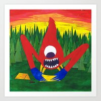 Nothing Like Camping... Art Print