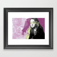Leah Framed Art Print