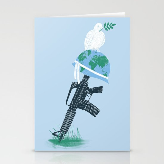 'Peace Within' Stationery Card