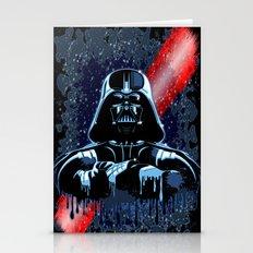 Darth Vader Mask On Dark… Stationery Cards