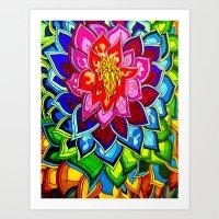 Bouquet 1  Art Print