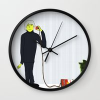 Andy's Calling His Best … Wall Clock