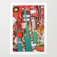 Block Science Art Print