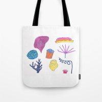 sea flora Tote Bag