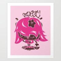 Chomba Sweetness Art Print