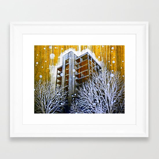 """The Fortress"" Framed Art Print"