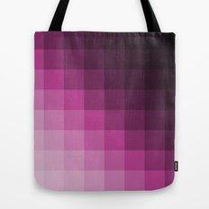 Pixel Gradient Tote Bag