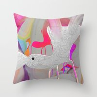 iphone cover Throw Pillow
