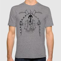 Cossack roots Mens Fitted Tee Tri-Grey SMALL