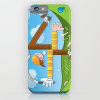Fore of Clubs iPhone 6 Slim Case