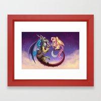 Fluttercord Tea Time Framed Art Print