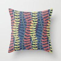 Seagrass Pattern - Blue … Throw Pillow