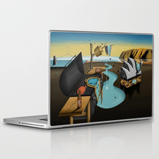 Where Time Stands Still - Surreal Sydney  Laptop & iPad Skin