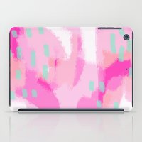 Amelia - Pink Abstract D… iPad Case