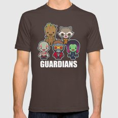 The Guardians Mens Fitted Tee Brown SMALL