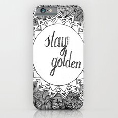 Stay Golden Slim Case iPhone 6s