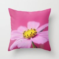 The Girly Side Throw Pillow