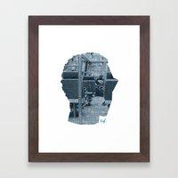 Poster Face #1 Framed Art Print