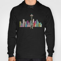 Seattle City  Hoody