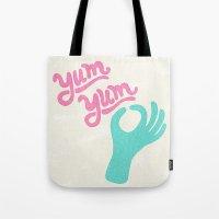 Yum Yum Tote Bag
