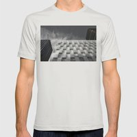 Builds 4 Mens Fitted Tee Silver SMALL