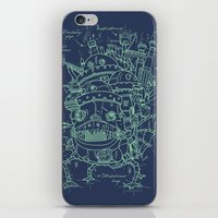 Chateau Ambulant iPhone & iPod Skin