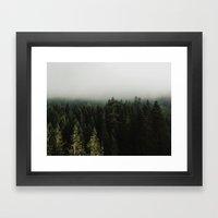 Stevens Pass Framed Art Print