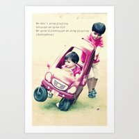 Children stuff Art Print