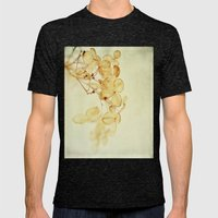 Winter Flora Mens Fitted Tee Tri-Black SMALL
