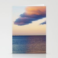 Approaching Clouds Stationery Cards
