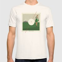Blame The Sunshine | Col… Mens Fitted Tee Natural SMALL