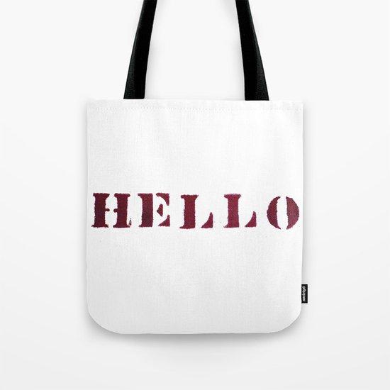Hello You Tote Bag