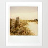 Florida Beaches - Polaro… Art Print