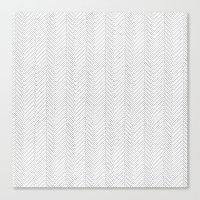 Herringbone DIY Canvas Print