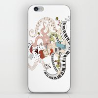 Love Piano Duet iPhone & iPod Skin