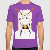 Slow The Churn Mens Fitted Tee Ultraviolet SMALL