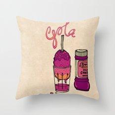 Kala Khatta Gola Throw Pillow