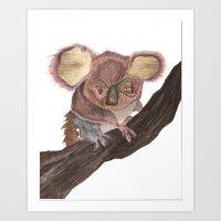 Koala Monstrosity Art Print