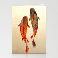 Kolors Koi Stationery Cards