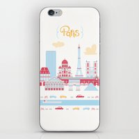 Paris Landscape iPhone & iPod Skin
