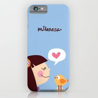 iPhone & iPod Case featuring Milanesa by Milanesa