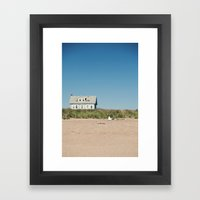 Reclaimed Territory Framed Art Print