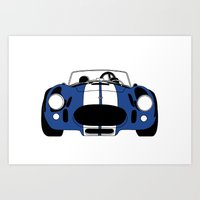 Shelby Cobra Art Print