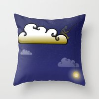 Fishing For Dreams Throw Pillow