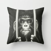 Prisoner II Throw Pillow