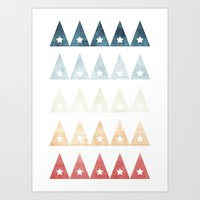 FLAGS Art Print