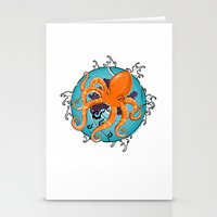 Hexapus Ink 2 Stationery Cards