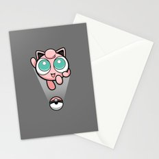 Jigglypuff opened a can of whoop-ass! It's super effective! Stationery Cards